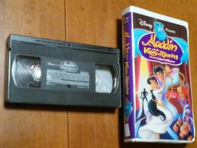 Disney - Aladdin and the King of Thieves~Robin Williams - VHS in Clamshell Case