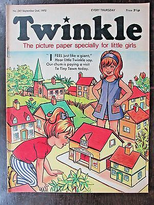 TWINKLE COMIC.  NO.241   SEPTEMBER 2nd.  1972.
