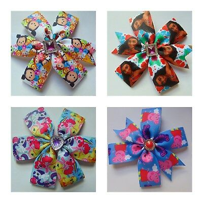 Hair clip kids Alligator hair clip kids bow girls hair accessories