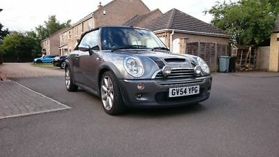 Mini Cooper S convertible 2004 damaged bumper repairable