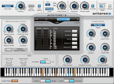 Antares Auto-Tune PRO Pitch and Time Correction Plug-in - Native E-Delivery