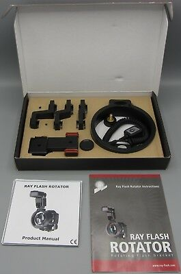 Ray Flash Rotating Flash Bracket for Canon DSLR - In Box