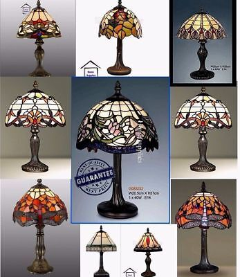 Tiffany-Style Glass HandCrafted Table /Desk / Bedside Lamps
