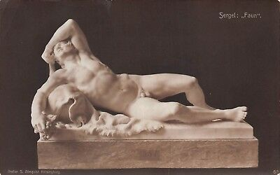 Lot of 7 Early / Vintage Museum Sculpture Art & More Postcards #115574 R