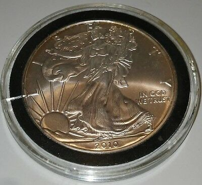 Us Uncirculated 2010 1 Oz Fine Silver Walking Liberty Coin