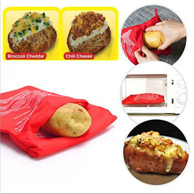 Potato Express Microwave Baked Potato Cooking Cooker Bag As Seen On TV Washable