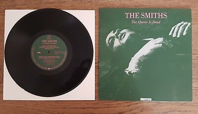"""THE SMITHS The Queen is dead VINYL 10"""" RARE LIMITED EDITION 1993 EX+/EX+"""