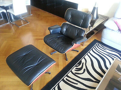 Fauteuil Charles Eames Lounge Chair 1999 par Vitra (authetique)