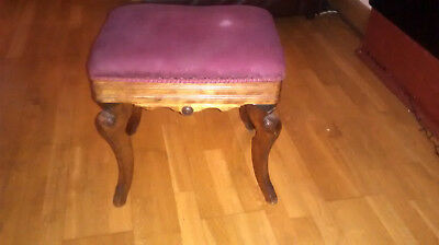 Antique Piano Stool Joshua Briggs Original