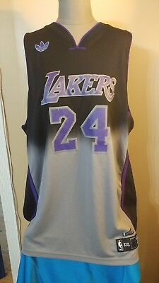 a335af975e7 KOBE BRYANT #24 Limited Edition Los Angeles Lakers Adidas Jersey XXL ...