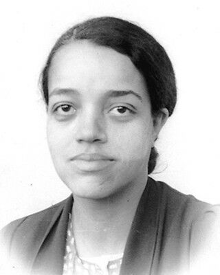 NASA-Dorothy Vaughan In Her 20's -NACA first African American Female Supervisors