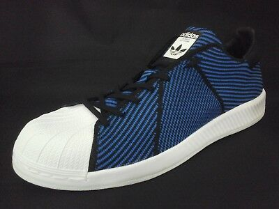 ADIDAS Superstar PK Bounce Shoes Sneakers Clamshell Blue S82242 US 12 EU 46 2/3