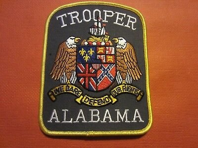 Collectible Alabama State Police Patch, New