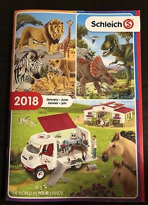 Schleich 2018 January-June  Catalog