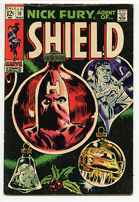 JERRY WEIST ESTATE: NICK FURY, AGENT OF S.H.I.E.L.D. #10 (Marvel 1969) FN
