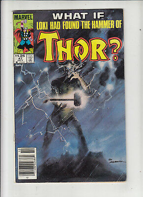 What If? #47 (1984) Thor  1.25 Canadian Newsstand Price Variant Fine-
