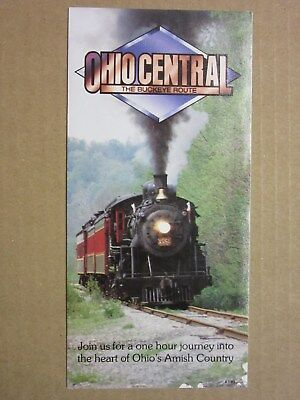 Ohio Central Canadian National 4-6-0 #1551 Flyer History Age of Steam Roundhouse