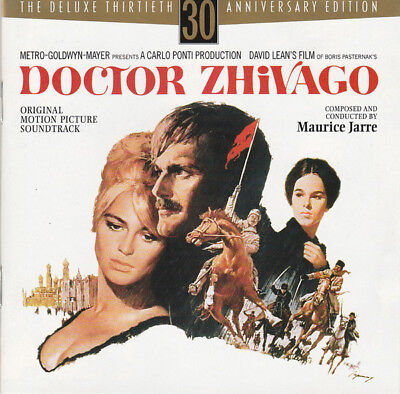 Doctor Zhivago 30Th Anniversary Deluxe Edition Cd Soundtrack With Slipcover