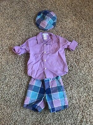 Janie And Jack 6-12 Months Boys Outift Set