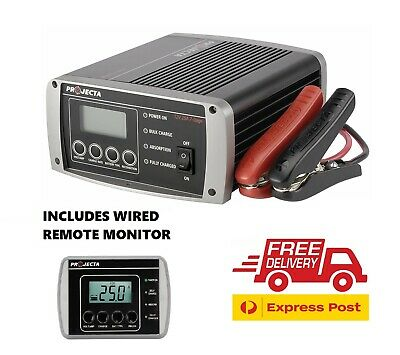 Projecta Ic2500 12 Volt 25Amp Automatic 7 Stage Battery Charger Caravan 4X4 Camp