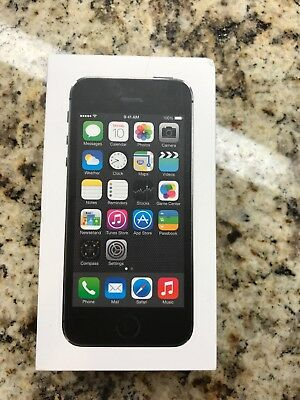 Apple iPhone 5s - 16GB - Space Gray (AT&T) Pristine with original packaging