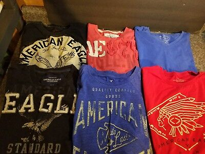 American Eagle Mens T-Shirt Lot Of 12 Large L AE