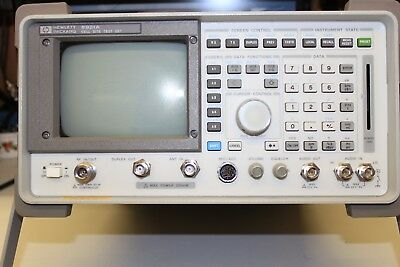 Hp Agilent 8921A Service Monitor Test Set Spectrum Analyzer Tracking Generator