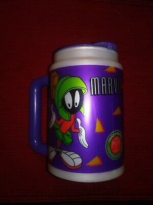 Marvin the Martian Plastic Mug ~ 1990s ~ Collectible ~ Excellent ~ Looney Tunes