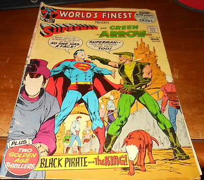 "Vintage World's Finest #210 March 1972 ""World Of Faceless Slaves"""