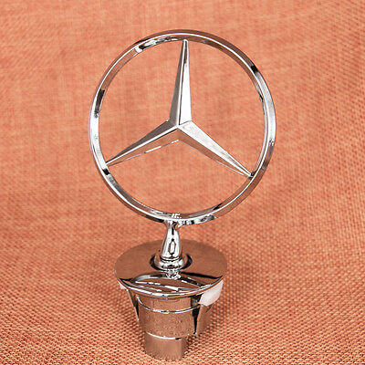 3D Zinc Alloy Benz Car Frond Hood Ornament Emblem for Mercedes Benz C E S Series