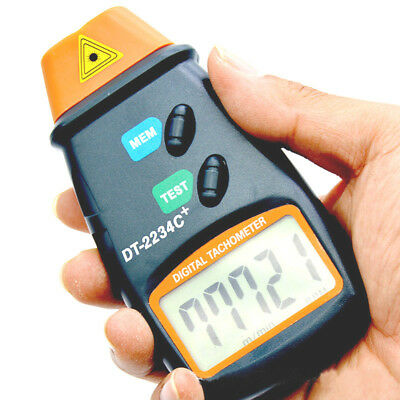 DT-2234C+ Small Engine Non-contact Hand Held LCD Digital Photo Tachometer