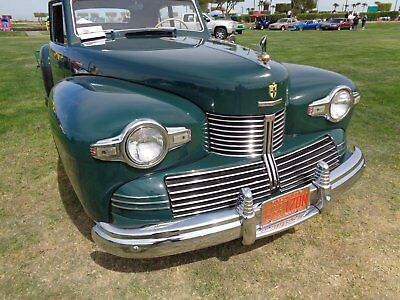 1942 Lincoln Continental Green leather tan cloth 1942 Continental Coupe