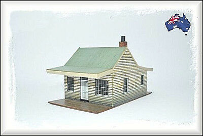 HO Scale Australian SAW TOOTH ROOF COTTAGE