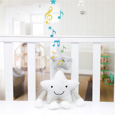 Star Baby Activity Music Crib Bed Soft Musical Toy Infant Rattle Stroller/Pram B