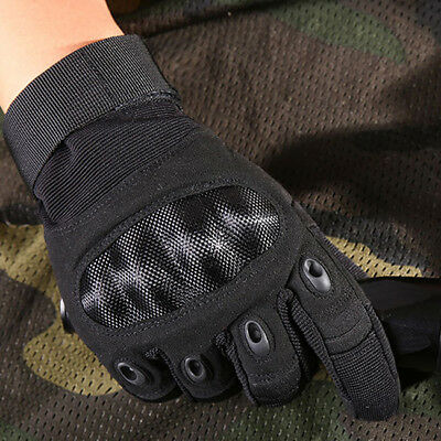 Full Finger Tactical Gloves Outdoor Sports Military Climbing Motorcycle Glove B