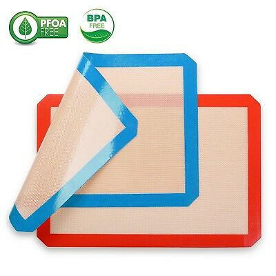 Silicone Baking Bakeware Sheet Mat Non-Stick Pastry Kitchen Tools Heat Resistant
