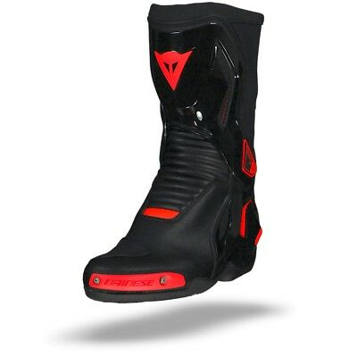 Dainese Course D1 Out Boots Black Fluo Red