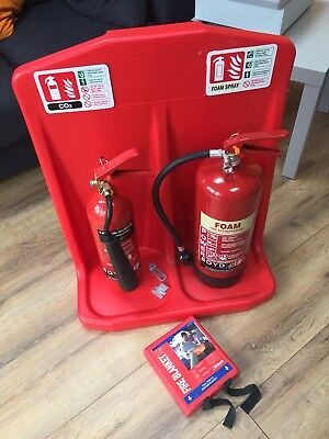 Fire Extinguisher And Stand