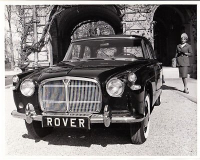 Rover 1961 3-Litre P5, Period Photograph, For Usa Market.
