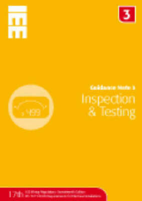 Guidance Note: Inspection & Testing. (Paperback)