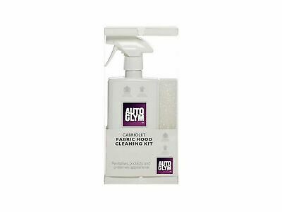 Autoglym Fabric Cabriolet Hood Cleaning Kit Soft Top Convertible Waterproof