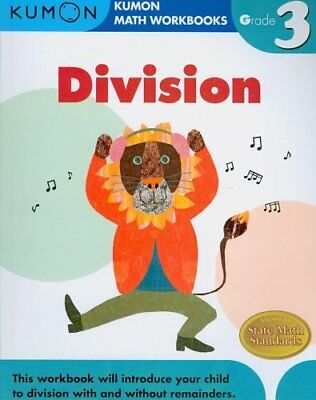 Grade 3 Division by Publishing Kumon 9781933241555 (Paperback, 2008)