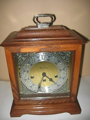 Black Forest Westminster Chime Mantel Clock Franz Hermle 340-020A