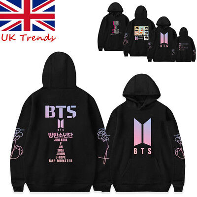 UK Kpop BTS Bangtan Boys love Yourself Hoodie SUGA J-HOPE JIMIN JIN V Sweatshirt