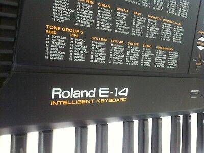 Roland E14 Intelligent Keyboard