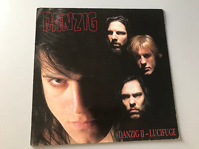Danzig ‎– II - Lucifuge, Vinyl, Def American Recordings, Misfits, First Press