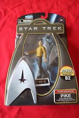 Star Trek Action Figur Pike Galxy Collection 2009  mit  OVP