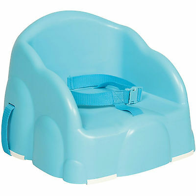 Safety 1st Basic Booster Seat Blue Baby Kid Toddler Dinning Safety Chair NEW