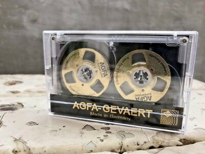 AGFA Audio Tape Gold Reel handmade Reel to Reel Cassette Blank For recording