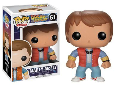 Back To The Future - Marty Mcfly - Funko Pop - Brand New - Movie 3400